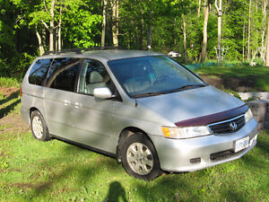 2003 Honda Odyssey EX-L Minivan, Parts or Mechanically Inclined