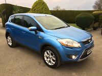 FORD KUGA 2.0 DIESEL, 2008, ONLY 69,000 MILES **FINANCE THIS FROM AS LITTLE AS £45 PER WEEK**