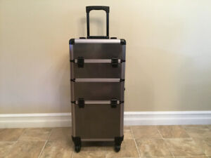 Rolling storage cases