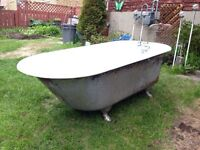 1909 Standard Ideal claw foot bathtub