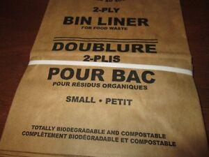 Kitchen bin liners for compostables (small) Kitchener / Waterloo Kitchener Area image 3