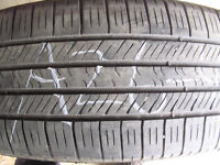 Four Goodyear Eagle LS2 225/55R17 Used Tires