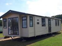 New Swift Burgundy Static Caravan Holiday Home For Sale Sited In Roughlee
