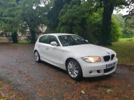 2010 BMW 118d M Sport White,FSH £4295