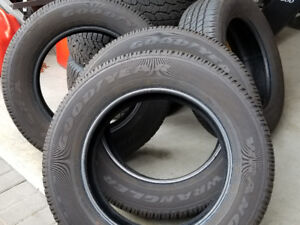 "FOUR NEW GOODYEAR WRANGLER 20"" TIRES"
