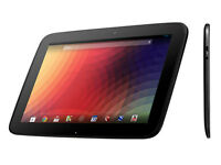 Nexus 10 Tablet 32GB with Bluetooth Keyboard, Case & Acc's