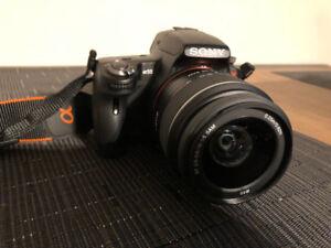 Sony Alpha SLT-A55 DSLR Camera w/ 18-55mm lens