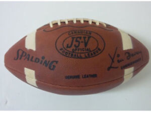 Looking to BUY CFL J5V Spalding football from the 1950's 1960's