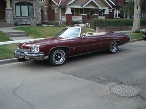 1973 Buick Centurion Convertible Original 455 cu in