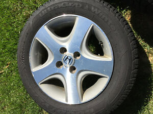 Honda Civic Si rims and tires