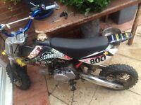 Stomp 110CC/Pit Bike Pitbike