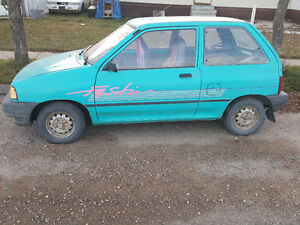 REDUCED Ford Festiva L 1992 (there is 2 of them)