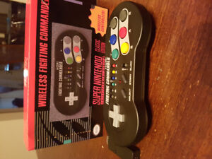 Wireless fighting commander Snes