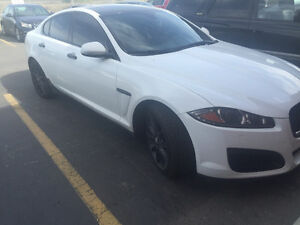 Price reduced!Custom Jag XFR body kit and custom black Jag rims!