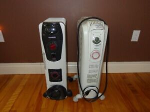 2 oil filled heaters $25 each