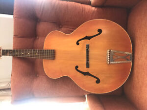 1957 Harmony Arch Top Guitar