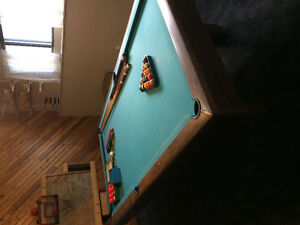 Pool Table and all you see
