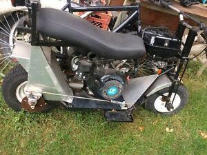 270cc 9hp engine mini bike custom build
