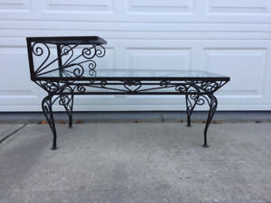 Use Outdoors or Indoors...Cast Iron/Metal Coffee Table
