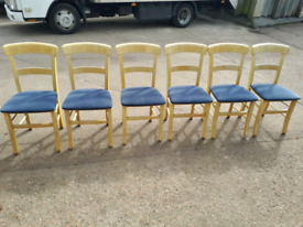 X6 Shabby Shic dining Chairs