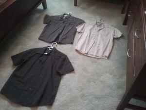 NEW shirts, pants, Nike caps, etc.