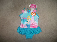 Cinderella Bathing Suit 6mth- Brand new with tags