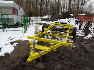 "uti trailer project to make 14'x 64""deck betwen whells 3500 lb"