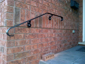 Steel Handrails in the front of your home