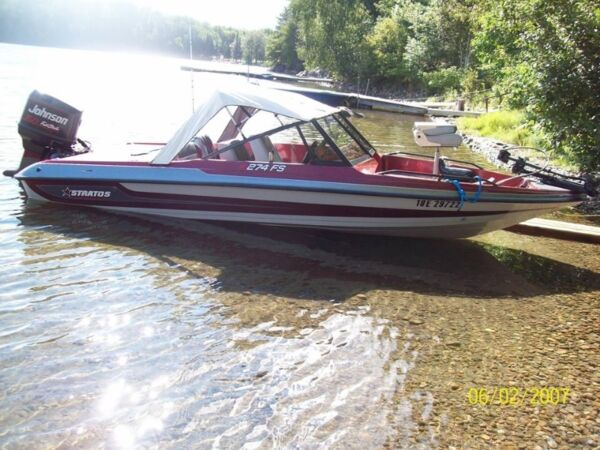 Used 1995 Stratos Boat Co stratos 274 fs fish and ski