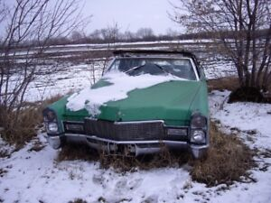 1968 Cadillac deville convertible parting out