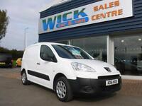 2011 Peugeot PARTNER HDI SE L1 625 Van *LOW MILES* Manual Small Van