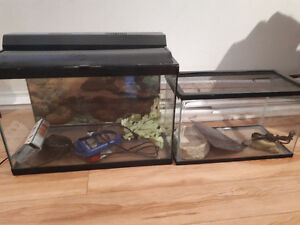 Aquarium and terrarium