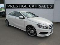 2014 Mercedes-Benz A Class 1.8 A200 CDI AMG Sport 5dr Diesel white Manual