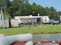 40 ft. Park Model Trailer on Seasonal Waterfront Site