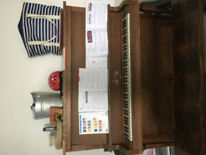Upright piano - holds its tune incredibly well.