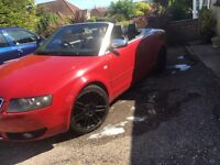 Audi A4 sport 2.4 v6 convertible may swap px