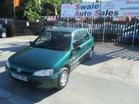 2001 PEUGEOT 106 1.1 INDEPENDENCE 3 DOOR 60 BHP
