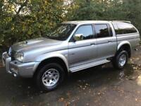 MITSUBISHI WARRIOR TRUCK DOUBLE CAB 2500 TD LTD 4X4 DIESEL