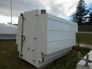 Used 8' Truck Master  Slide In Tool Shed