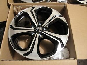 2014-2015 civic si 18inch oem rims in box West Island Greater Montréal image 5