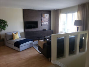 New & Stylish Furnished One/Two Bedroom Suites