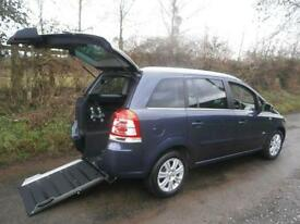 2011 Vauxhall Zafira 1.8i Design 5dr AUTOMATIC WHEELCHAIR ACCESSIBLE VEHICLE ...