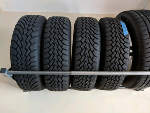 185/70R14 Good Year Nordic Winter Tires and Steel Rims