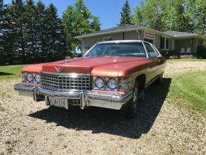 1974 Cadillac Coupe Deville low mileage Survivor Garage queen