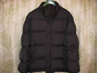 Lacoste Down Reversible Black Jacket Size 52 (Europe) L or XL