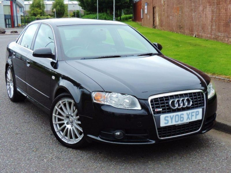2006 audi a4 2 0 tfsi s line special edition quattro 4dr in glasgow gumtree. Black Bedroom Furniture Sets. Home Design Ideas