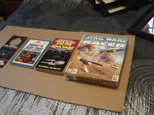 STAR WARS AND STAR TREK COLLECTABLES