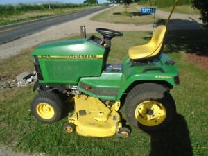 "JOHN DEERE 425 RIDING LAWNMOWER 54"" CUT V TWIN LIQ.COOLED EXCELE"