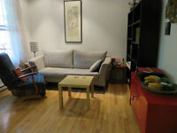 Condo for rent Sept 1 to end of May or June in Mile End/Plateau