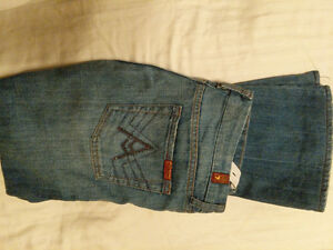 7 for all Mankind Maternity Jeans with adjustable waist Cambridge Kitchener Area image 1